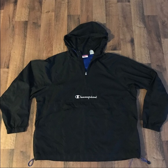 53% off Champion Other - Vintage XL Champion Spell Out Pull Over ...