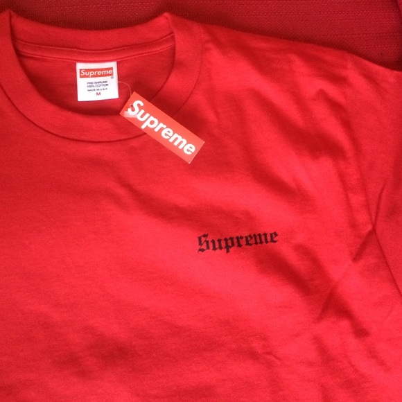 Supreme Slayer Forearms Tee M Red 6cf0339bf