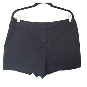 Plain black shorts