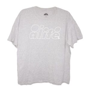 ALIFE Other - ALIFE 3m Reflective Logo Tee
