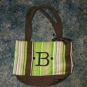 """Handbags - Thirty One bow purse with monogrammed """"B"""""""