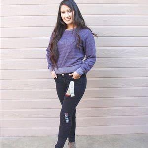 Levi's Denim - Washed Out Black Levis Skinny Jeans