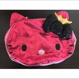 Hello Kitty Handbags - HELLO KITTY SEQUINED PURSE