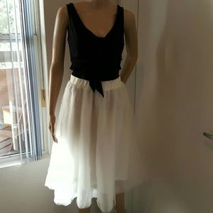 Charlotte Russe Dresses & Skirts - White Tulle Skirt