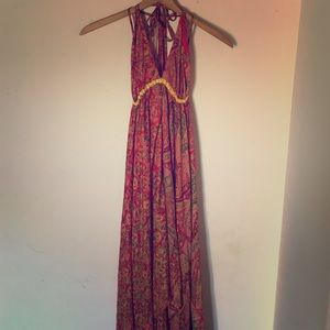 Dresses & Skirts - Beautiful Silk Maxi Dress