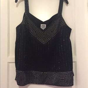 Beaded tank or cami size 22W