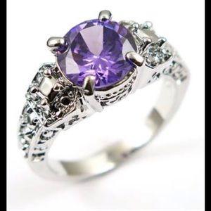Jewelry - 5 Carat Purple Amethyst in 10k gold