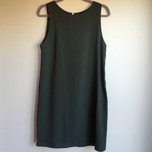 one clothing Dresses & Skirts - Green crepe swing dress