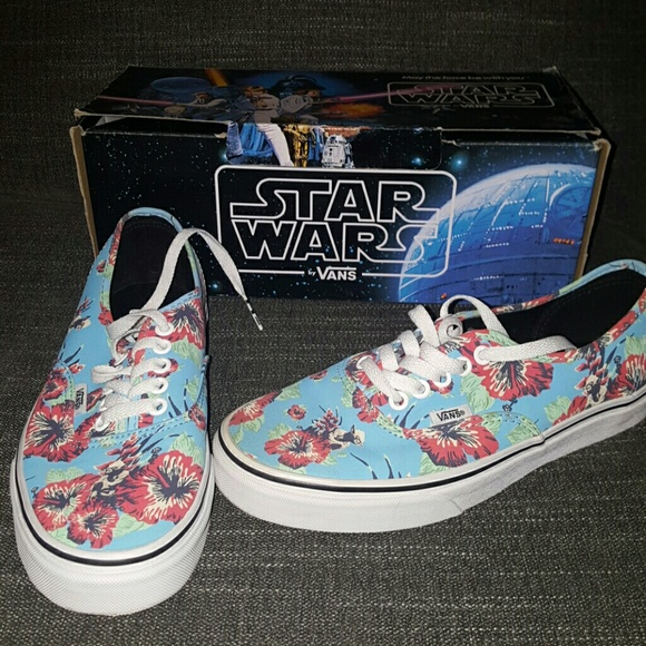 9b846d4def VANS Authentic Rare Star Wars Yoda Aloha