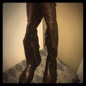Zigi Soho Shoes - 👢👢Knee/ over the knee brown  Boots