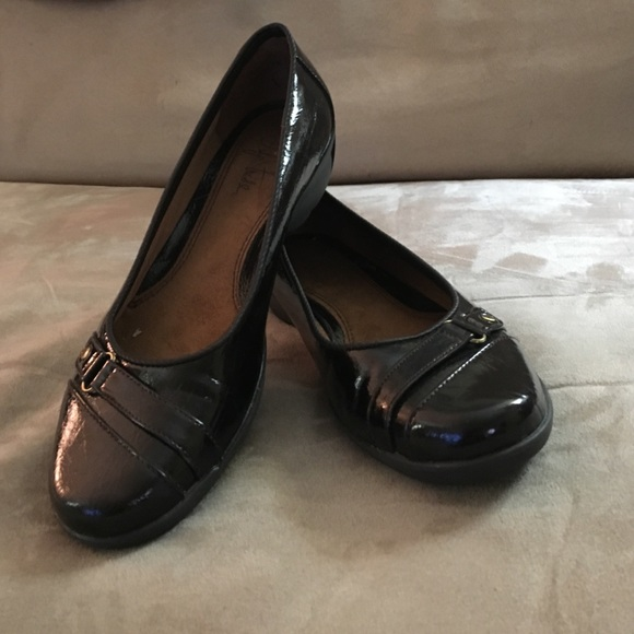 e7e6c7264b3f Life Stride Shoes - Life Stride candid 7M flex shiny black flats
