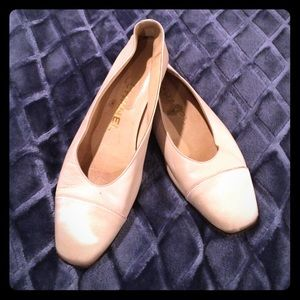 ❤Classic CHANEL beige ballerina flats!❤️