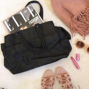 GAP Handbags - GAP Pebble Leather Tote Bag