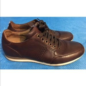 "Bacco Bucci Other - BACCO BUCCI ""MEYER"" LEATHER SNEAKERS"