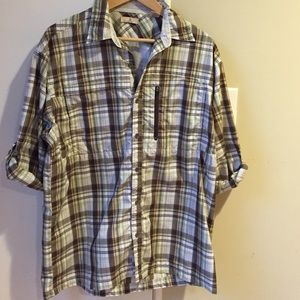 Ascend Other - Men's Ascend Poly Outdoor Button Down