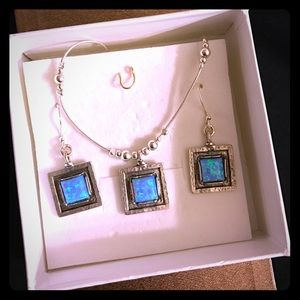 Jewelry - 925 sterling silver necklace set