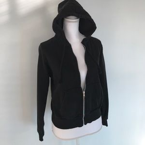 H&M Jackets & Blazers - Black Hooded Jacket
