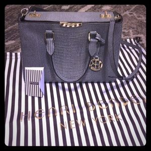 Henri Bendel Turnlock Satchel