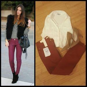 Sale! NWT Zara lara woman slim skinny jeans
