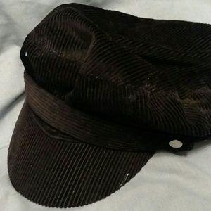 Corduroy Newsboy hat