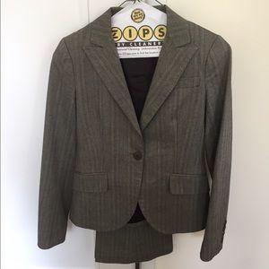 Theory Herringbone pant suit, Petite00
