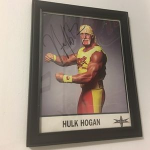 Hulk Hogan WCW autograph