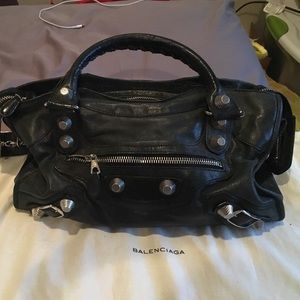 Balenciaga Handbags - Authentic Giant 21 city black Balenciaga bag