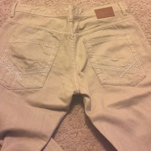 rational construction new products top-rated cheap Men's BKE khaki colored jeans size 32 long