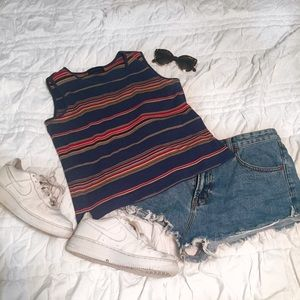 Vintage Striped Top