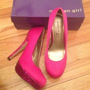 Steve Madden Shoes - NWT Madden Girl by Steve Madden hot pink platform