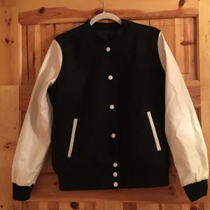 Forever 21 Jackets & Blazers - NWT FOREVER 21 LETTERMAN JACKET