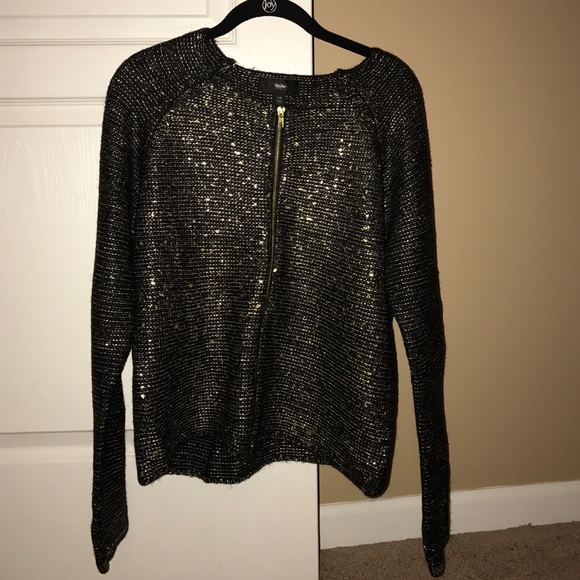 50% off Mossimo Supply Co. Sweaters - Beautiful black and gold ...