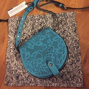 Rebecca Minkoff Handbags - Blue Leather Rebecca Minkoff Crossbody