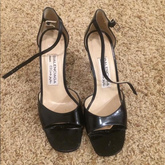 Vintage Balenciaga Heels | Poshmark