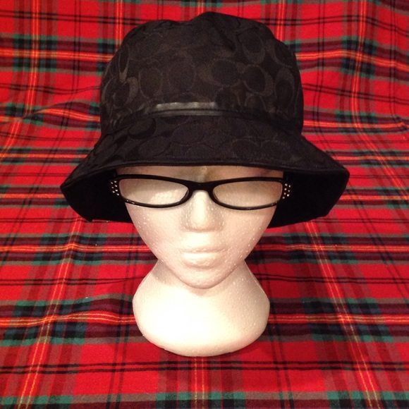98aaebb149d Coach Accessories - Black Coach Bucket Hat