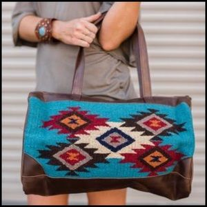 Handbags - Southwestern Blanket Bag