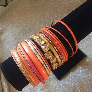 Jewelry - ❤️Orange bracelets