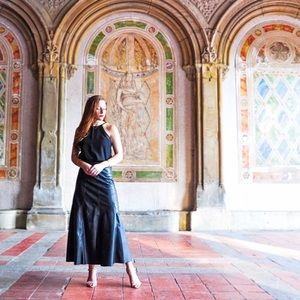 Zara Dresses & Skirts - Zara Faux Leather Long Skirt