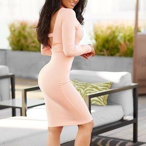 want my look  Dresses & Skirts - Long sleeve dress