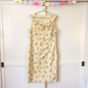 Dresses & Skirts - 🌷 Laura Ashley 🌷 Yellow Pencil Dress