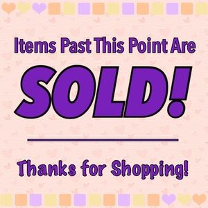 Sold Items!