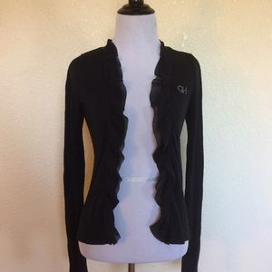 Navy Gilly Hicks Cardigan Size S