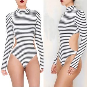 """Missguided Dresses & Skirts - """"Cut It Out"""" Bodysuit"""