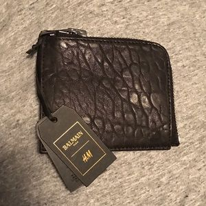 Balmain Other - 🎉HOST PICK🎉 Balmain for H&M leather wallet