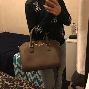 c750c539e18 Calvin Klein Bags - Calvin Klein tapered Saffiano leather satchel