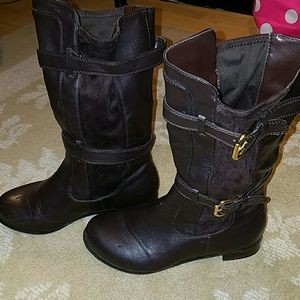 11 By Boris Bidjan Saberi Shoes - Brown riding boots