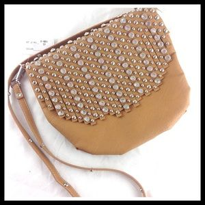 The Wanted Wardrobe Handbags - 🎉HP🎉Crystal Studded Fringe Boutique Cross Body