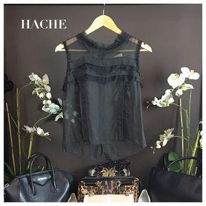 Hache Tops - HACHE BLACK TOP