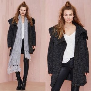 Coffee Shop Livvy OVersized Wool Coat