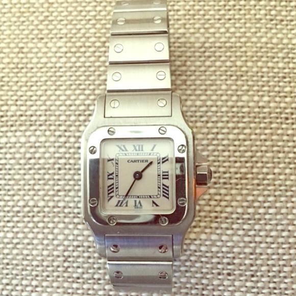 5517874eb Cartier Accessories - ❤Cartier Santos small face women's watch-authentic